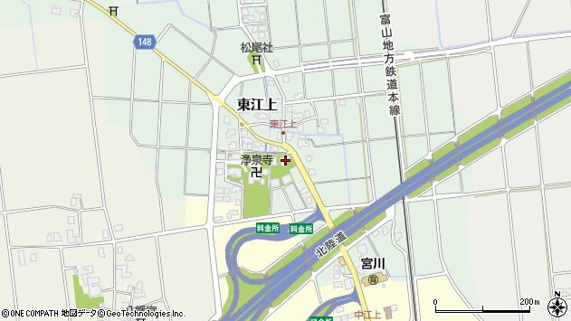 〒930-0312 富山県中新川郡上市町東江上の地図