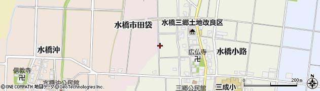 富山県富山市水橋小路周辺の地図