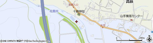 高萩市役所産業建設部 水道課・第一浄水場周辺の地図