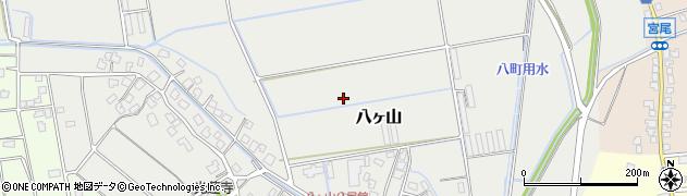 富山県富山市八ヶ山周辺の地図