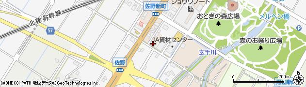 富山県高岡市佐野1423周辺の地図