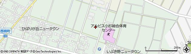 富山県射水市戸破(若宮町)周辺の地図