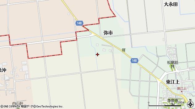 〒930-0311 富山県中新川郡上市町弥市の地図