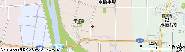 富山県富山市水橋平塚周辺の地図