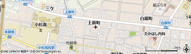 富山県射水市三ケ(上新町)周辺の地図