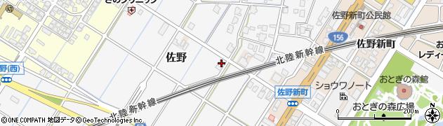 富山県高岡市佐野931周辺の地図