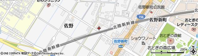 富山県高岡市佐野1031周辺の地図