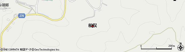 群馬県みなかみ町(利根郡)相俣周辺の地図