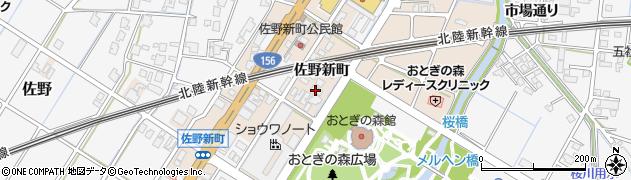 富山県高岡市佐野1347周辺の地図
