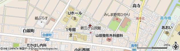 富山県射水市三ケ(新三ケ)周辺の地図