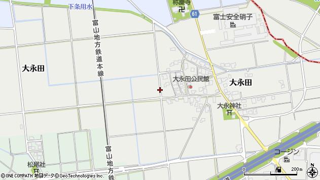 〒930-0303 富山県中新川郡上市町大永田の地図
