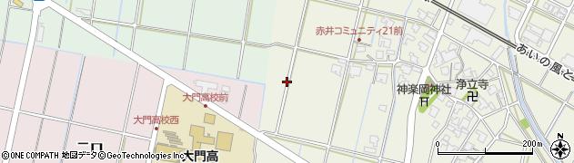 富山県射水市赤井周辺の地図