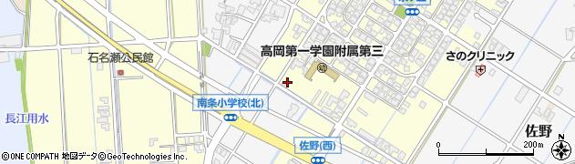 富山県高岡市佐野650周辺の地図