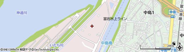 富山県富山市興人町周辺の地図