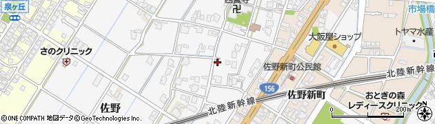 富山県高岡市佐野1012周辺の地図