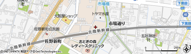 富山県高岡市佐野1282周辺の地図