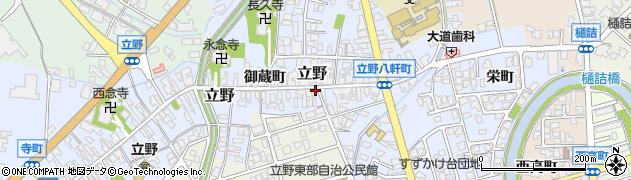 富山県高岡市鍛冶屋町周辺の地図