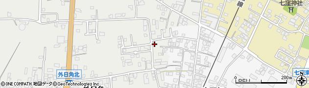 石川県かほく市外日角ハ周辺の地図