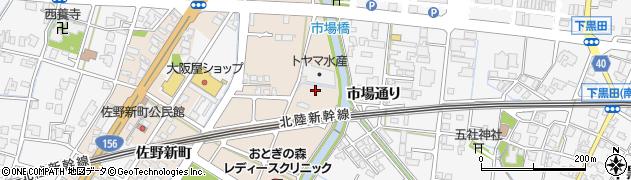 富山県高岡市佐野1281周辺の地図