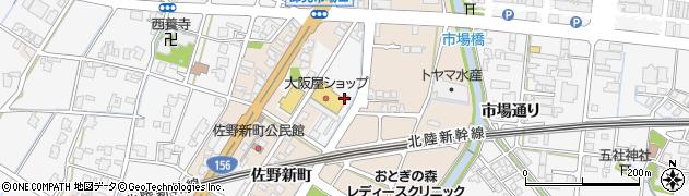 富山県高岡市佐野1296周辺の地図