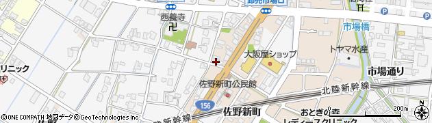 富山県高岡市佐野1730周辺の地図