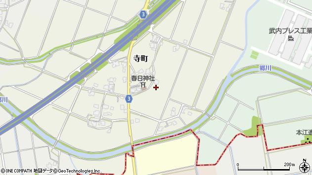 〒936-0844 富山県滑川市寺町の地図