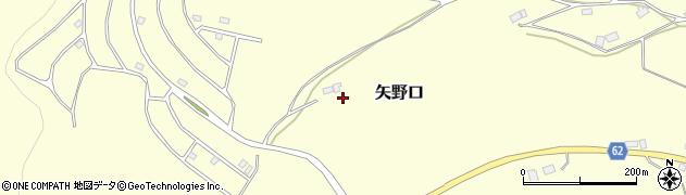 栃木県日光市矢野口周辺の地図