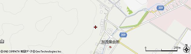 富山県高岡市福岡町加茂周辺の地図
