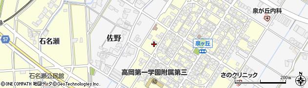富山県高岡市佐野726周辺の地図