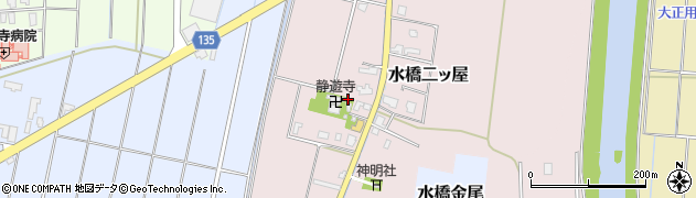 富山県富山市水橋二ッ屋周辺の地図