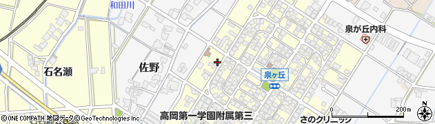 富山県高岡市佐野730周辺の地図