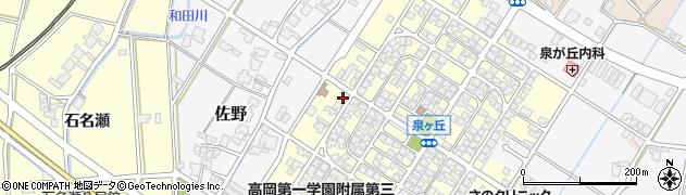 富山県高岡市佐野731周辺の地図