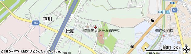 富山県高岡市上渡周辺の地図