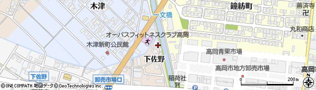 富山県高岡市佐野649周辺の地図