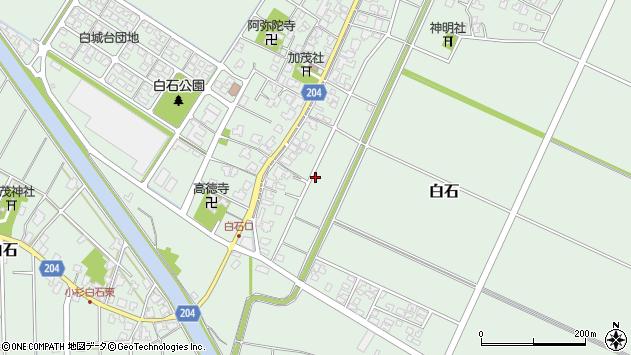〒933-0207 富山県射水市白石の地図