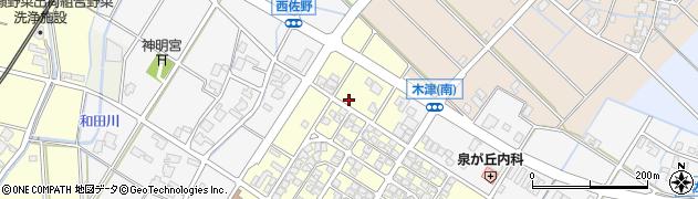 富山県高岡市泉が丘周辺の地図