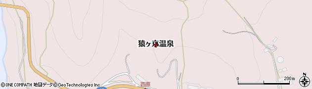 群馬県みなかみ町(利根郡)猿ヶ京温泉周辺の地図