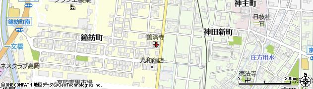 善済寺周辺の地図