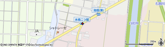 水橋池田周辺の地図