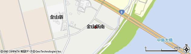 富山県富山市金山新南周辺の地図