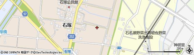 富山県高岡市石塚周辺の地図
