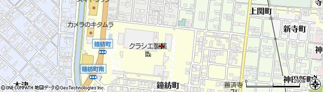 富山県高岡市鐘紡町周辺の地図