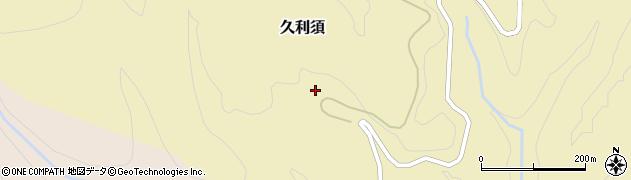 富山県小矢部市久利須周辺の地図