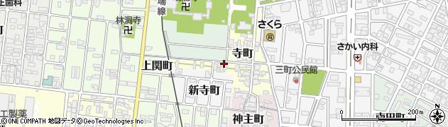 富山県高岡市寺町周辺の地図