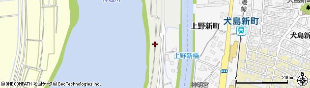 富山県富山市上野新周辺の地図