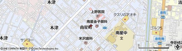 富山県高岡市木津南星町周辺の地図
