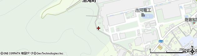 栃木県日光市清滝町周辺の地図