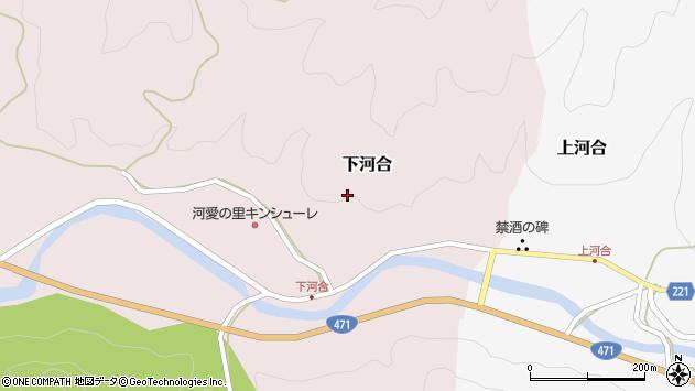 〒929-0305 石川県河北郡津幡町下河合の地図