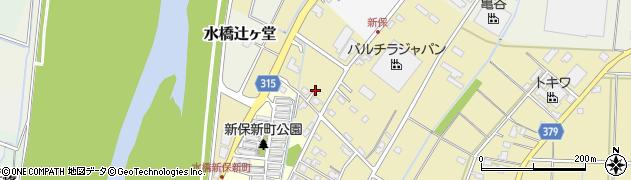 富山県富山市水橋新保周辺の地図
