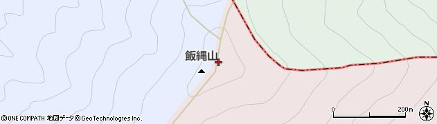 飯縄山周辺の地図
